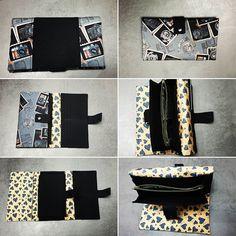 ChocolaTeamSew Creations sur Instagram: Porte feuille complice de chez sacôtin. Très facile à réaliser. J'ai adorer le fait qu'il y ai plusieurs finition de rabat. J'ai offert ce…