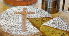 Greek Sweets, Greek Cooking, Greek Recipes, Food And Drink, Easter, Bread, Cheese, Cake, Desserts