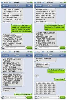 So funny!!! Thor Text Messages Iron Man, Hilarity Ensues - TechEBlog
