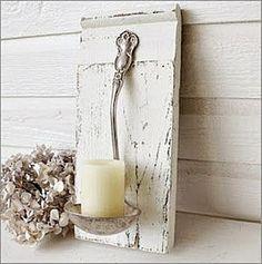 Menaje antiguo como candelabro o jarrón - Decoracion - EstiloyDeco