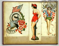 Ben Corday Patriotische Tattoos, Left Arm Tattoos, Sailor Tattoos, Pin Up Tattoos, Body Art Tattoos, Flash Tattoos, Tatoos, Usa Tattoo, Traditional Tattoo Old School
