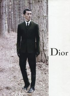 AD CAMPAIGN: DIOR HOMME AUTUMN/WINTER 2012/13 BY KARL LAGERFELD