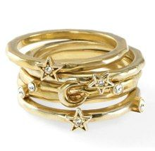A Celeb Stylist Designed These Stacking Rings (And Today They're Half Off!) : Lucky Magazine  $60