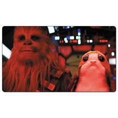 NEW Star Wars playmat : Chewbacca and a porg #porg #starwarsdestiny