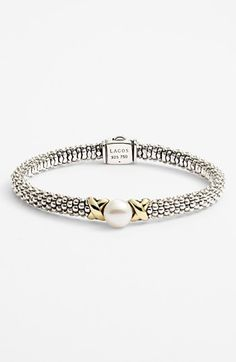 Lagos 'Luna' Pearl Rope Bracelet available at #Nordstrom