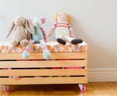 Le coffre rangement meuble rangement enfant