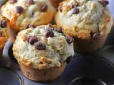 Chocolate Chip Yogurt Muffins {Bakery Style} – The Baking ChocolaTess