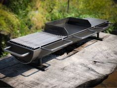This is the new top-of-the-line Kotaigrill 836 hibachi grill. Nearly identical to the 836 twin top, just with three welded carbon steel interchangeable grill tops. This listing includes the brand…More Fire Grill, Bbq Grill, Outdoor Hibachi Grill, Parrilla Exterior, Outdoor Fire, Outdoor Decor, Outdoor Stove, Pit Bbq, Grill Design