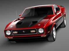 Ford Mustang Mach 1 1971 Model available on Turbo Squid, the world's leading provider of digital models for visualization, films, television, and games. Mustang Mach 1, Ford Mustang Shelby Gt500, 1970 Ford Mustang, Mustang Cars, Us Cars, Sport Cars, Bmw Autos, Custom Muscle Cars, Classic Mustang