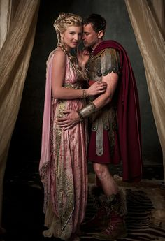 Claudius & Ilithyia, Spartacus: Blood & Sand