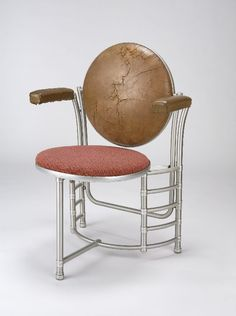 Armchair prototype, for S. C. Johnson & Son Company Administration Building, Racine, WI by Frank Lloyd Wright