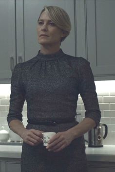 Claire Underwood wearing Dolce