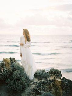 Australian coastal bridal inspiration