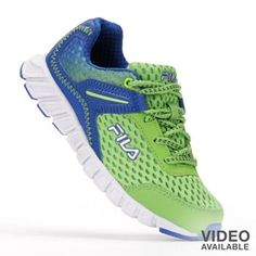 FILA Hoppy Running Shoes - Boys
