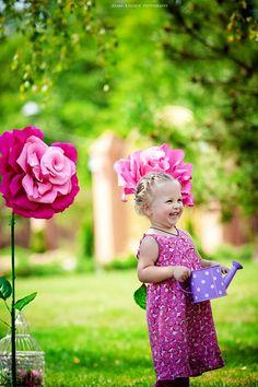 """Детский фотопроект """"Цветы жизни"""""""