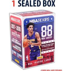 2017-18 Hoops Basketball Factory Sealed 11 Pack Box - Fanatics Authentic Certified - Basketball Wax Packs ** Continue to the product at the image link. (This is an affiliate link) #SportsCollectibles