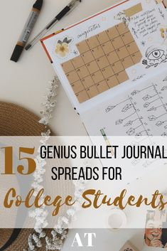 15 Genius Bullet Journal Spreads for College Students - Care - Skin care , beauty ideas and skin care tips Bullet Journal Budget, Bullet Journal Mood Tracker, Bullet Journal Spreads, Bullet Journal Student, Bullet Journal Christmas, Bullet Journal Headers, Bullet Journal How To Start A, Bullet Journal Ideas Pages, Bullet Journal Layout