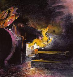 Graham Sutherland OM, 'Feeding a Steel Furnace' 1941-2