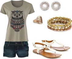 """""""Owl"""" by reaganbkelly on Polyvore"""