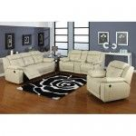 AC Pacific Furniture - Allen 3 Piece Bonded Leather Reclining Set - JYQ1067  SPECIAL PRICE: $1,688.99