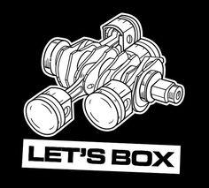 Subaru Boxer Motor Shirt Boxer Engine Engine by LiveVintageGallery, $20.00