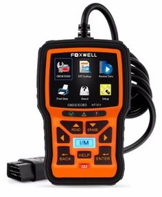 #6 FOXWELL Nt301 Obd2 Code Scanner Universal Car Engine