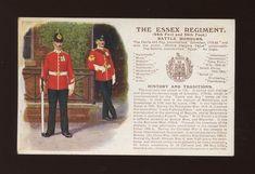 The Essex Regiment, British Army Uniform, British Uniforms, British Soldier, Marine Commandos, Military Cards, Military Costumes, British Armed Forces, Military Branches, Catholic Priest