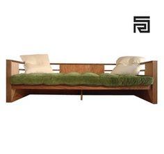 R M Schindler Sofa  MidCentury  Modern, Wood, Sofa by Marmol Radziner