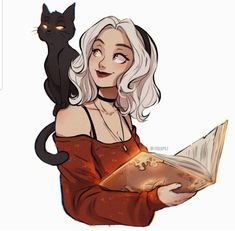 cartoon art A little doodle with the pumpkins and witches watercolor set from andreja because its that time of the year Cartoon Girl Drawing, Girl Cartoon, Cartoon Drawings, Cute Drawings, Cute Girl Drawing, Drawing Faces, Character Sketches, Character Drawing, Art Sketches