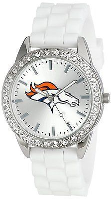 """Game Time Women's """"Frost"""" Watch - Denver Broncos - The Skybox Store"""