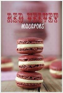 A Recipe for Gluten-Free Red Velvet Macarons