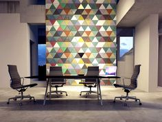 Innovative Leather Coverings by Lapelle at ICFF New York lapelle leather wall coverings