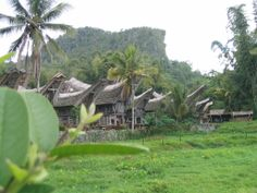 Paisaje de aldea Toraja, declarado Patrimonio de la Unesco