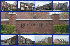 Beacon Hill community of Mason Ohio 45040.  New construction townhomes by Towne Condos.  Behind Deerfield Towne Center