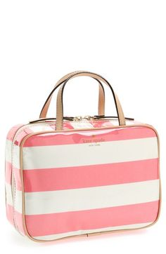 @kate spade new york cosmetic bag as perfect bridal shower gift.