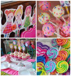 Mooshka Doll Tea Party with Lots of Cute Ideas via Kara's Party Ideas | Cake, decor, cupcakes, games and more! KarasPartyIdeas.com #mooshka ...