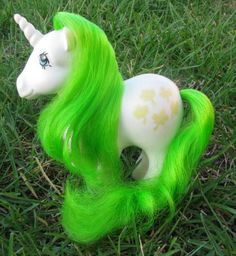Gusty from AEGENTINA [Unicorn MLP My Little Pony G1 Hasbro]