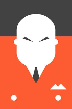 Re Vision Pop Culture Icons by Forma & Co cartoon comic Marvel superhero villain Kingpin