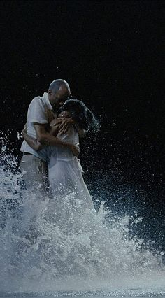 "Bill Viola...  A pioneer in ""video art"" and one of my favorites...  If you ever get an opportunity to see one of his exhibitions, seize it!  Memorable and moving..."