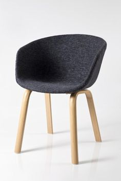 Fabric seat Metal legs (Wood pattern vinyl) x x cm No assembly required