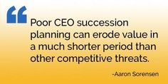 Importance of proper CEO succession planning | Generational Equity | Image source:  facebook.com/GenerationalEquity