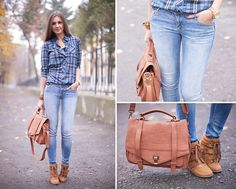 Plaid Shirt (by Nika H) http://lookbook.nu/look/4217517-Plaid-Shirt