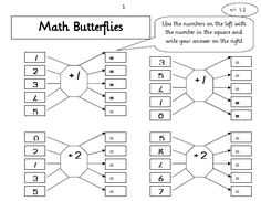 Maths butterflies