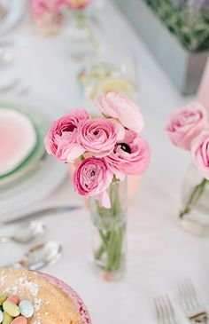 Setting a Whimsical Pastel Easter Brunch Table - Inspired By This