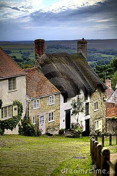 Gold Hill, Shaftesbury, Dorset, #England http://VIPsAccess.com