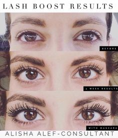 Crazy long lashes without the expense and maintenance of extensions. Rodan and Fields LASH BOOST.