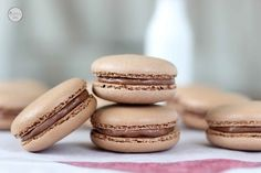 Chocolate Hazelnut Macarons | 33 Super-Fancy Ways To Eat More Nutella