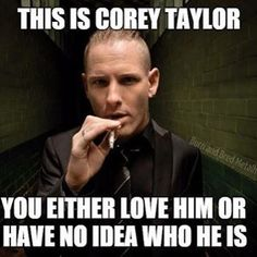 Who doesn't know this adorable face? #coreytaylor