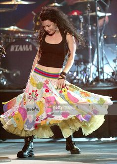 Singer Amy Lee of Evanescence performs on stage during the 31st Annual American…