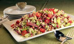 Nancy Silverton's Chopped Salad at Pizzeria Mozza! Great dinner salad!
